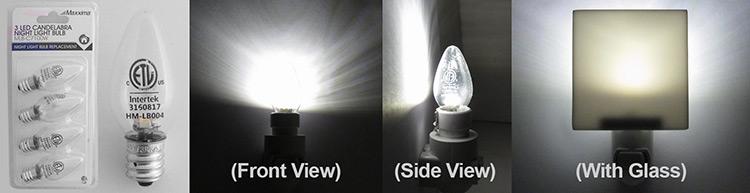 Maxxxima Night Light Bulb LED C7 - 100W