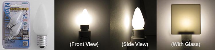 Meridian LED Bulbs for Nightlites
