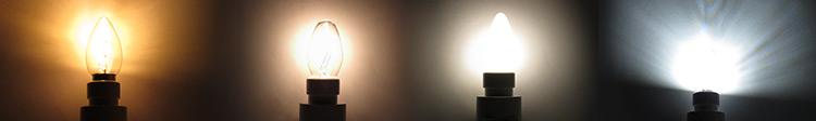 Night Light Bulb Comparison