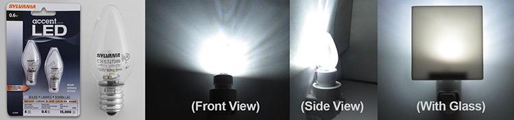 Sylvania Accent Series Bulb - LED 0.6W