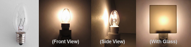 4 Watt Incandescent Night Light Bulbs