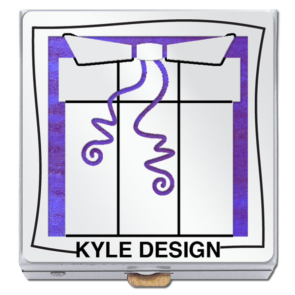 Kyle Design Custom Logo Pill Box
