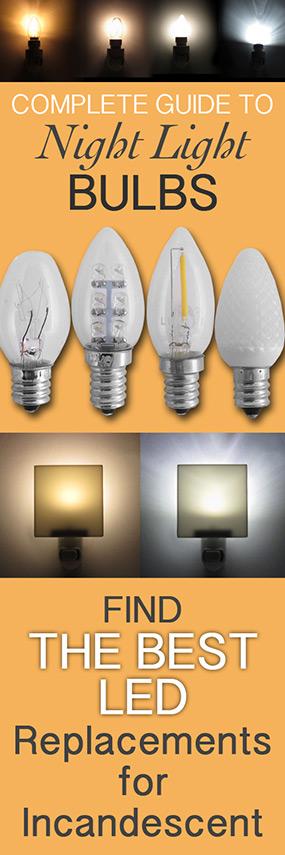 Night Light Bulb Comparison Guide