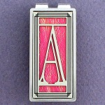 Unique Monogram Letter A Money Clip