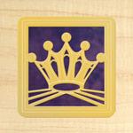 Maple - Gold - Purple Glass
