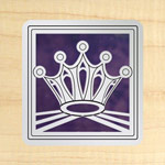 Maple - Silver - Purple Glass