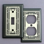 Mission Style Light Switch Covers by Kyle Design