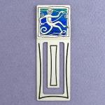 Engravable Monkey Bookmark in Metal