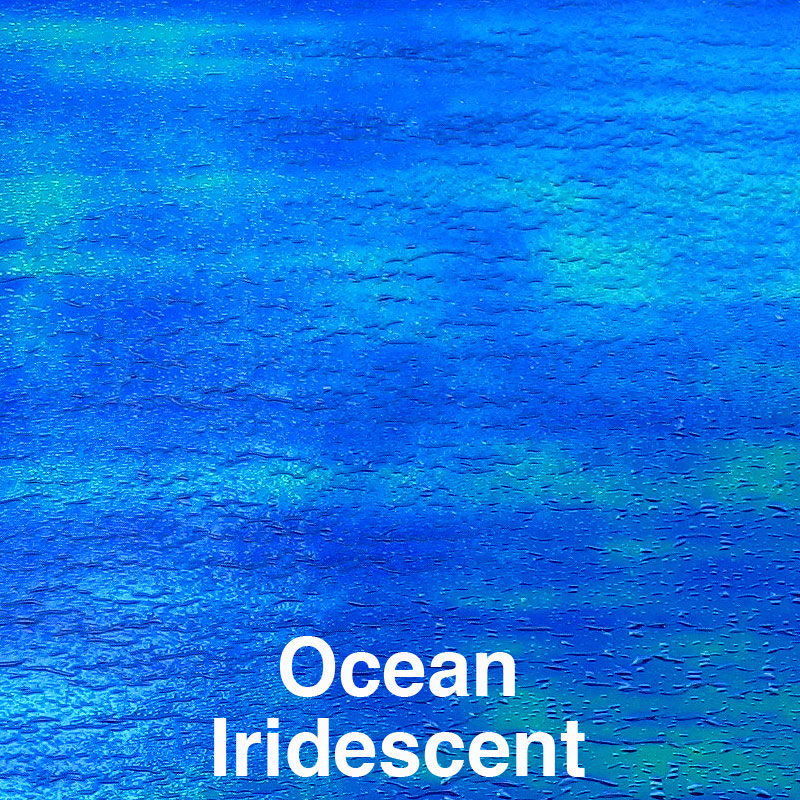 Ocean Iridescent Color