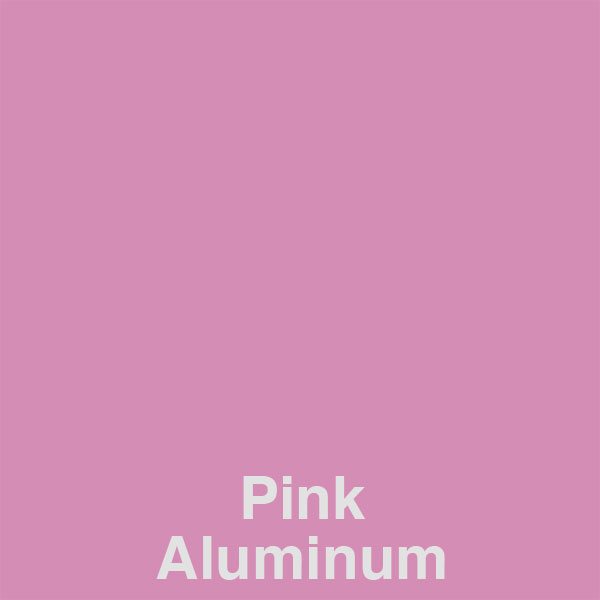 Pink Aluminum Color