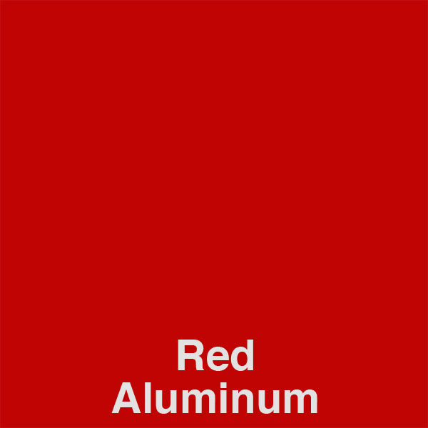 Red Aluminum Color