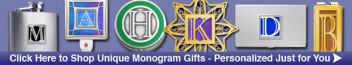 Shop Monogrammed Gifts