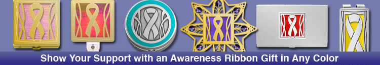 Unique Awareness Ribbon Gifts