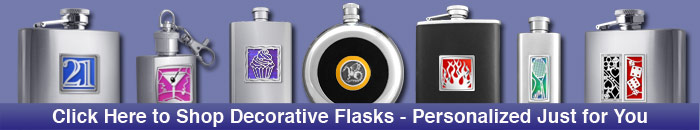 Designer Hobby Flasks