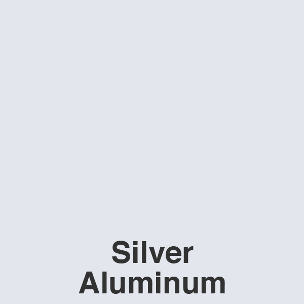 Silver Aluminum Color