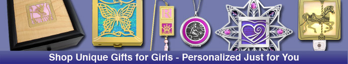 Unique gifts for girls personalized for your daughter