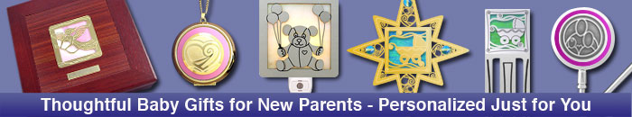 Unique gifts for new parents