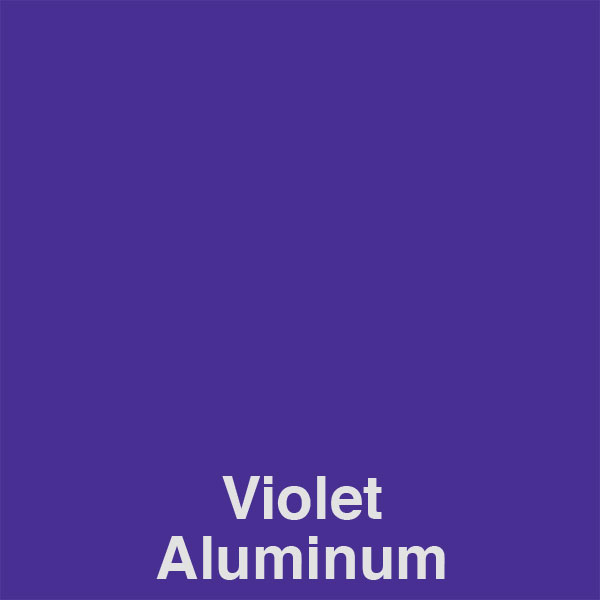 Violet Aluminum Color