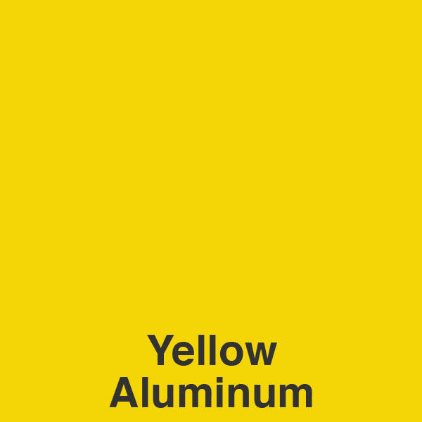 Yellow Aluminum Color