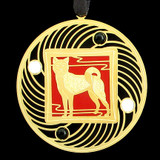 Personalized Akita Puppies Ornaments