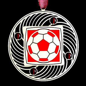 Personalized Soccer Balls Ornaments