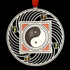 Personalized Yin Yang Ornaments