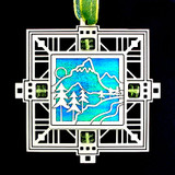 Mountain Holiday Ornaments