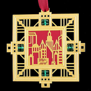Cityscape Celebration Ornaments