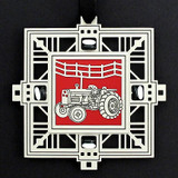 Farm Tractor Celebration Ornament