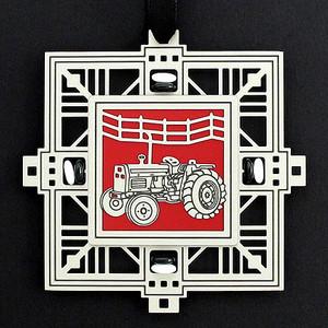 Farm Tractor Celebration Ornament