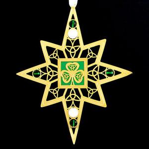 Shamrock Custom Christmas Ornaments