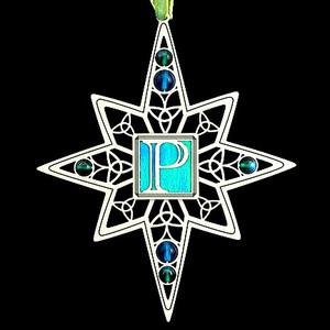 Pretty P's Monogram X-mas Ornaments