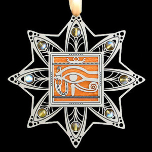 Egyptian Eye Christmas Ornaments