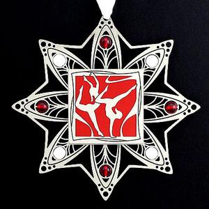 Women's Gymnastics Christmas Ornaments