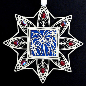 Fireworks Ornament - 4th of July