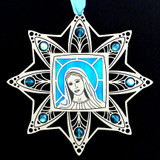 Virgin Mary Christian Ornaments