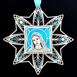 Virgin Mary Christian Ornaments
