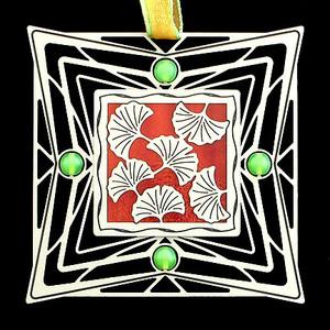 Ginkgo Leaf Ornaments