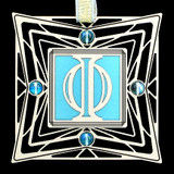 Greek Phi Ornament