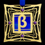 Greek Letter Beta Ornaments