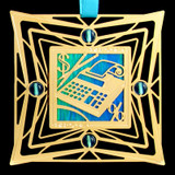 Adding Machine Ornament for Accountant