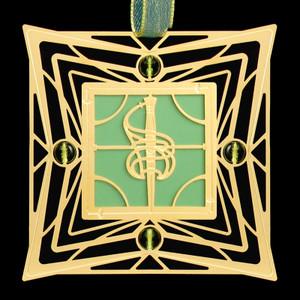 Gold Sword Ornament