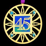 45th Anniversary Ornament