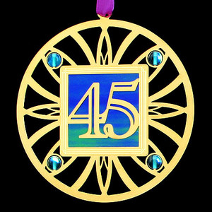 45th Anniversary Ornament