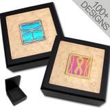 Unique Dichroic Glass Jewelry Box