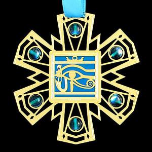 Egyptian Eye Ornament