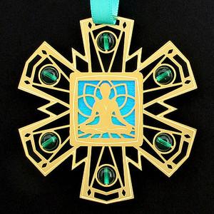 Namaste Yoga Ornament