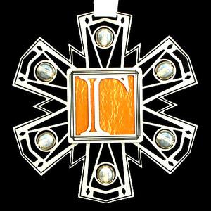 Greek Gamma Ornament