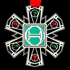 Thetas Ornament