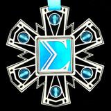 Greek Sigma Ornament
